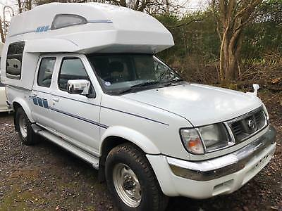 NISSAN NAVARA 4 BERTH MOTORHOME HIGH TOP 4WD AUTO New Camper conversion NEW LPG