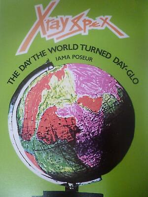 X-Ray Spex, The Day the World Turned Day-Glo Press Promo - Mini Poster