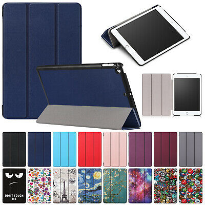 For 2019 iPad Mini 5th Gen Case Mini 4 Smart Magnetic Leather Folded Stand Cover