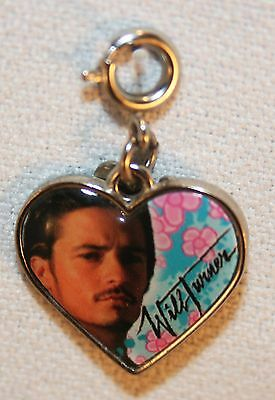 Disney Will Turner Heart Charm Pirates of the Caribbean Charm It