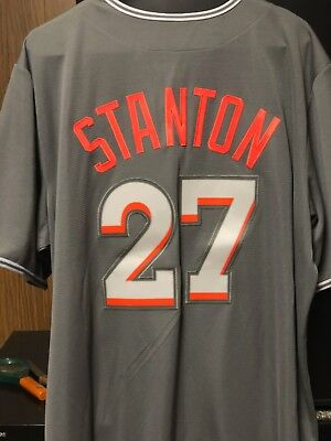 884783d50ee Giancarlo Stanton Miami Marlins Mlb Jersey - New With Tags -Size - Mens Xl