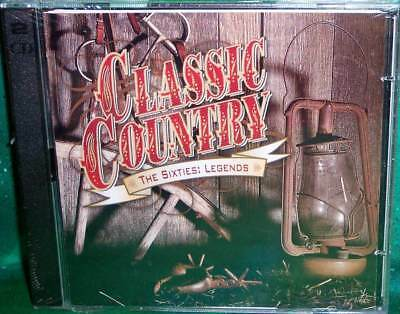 New Oop Time Life Classic Country 60S Sixties Legends 2 Disc Music Cd 30 Tracks