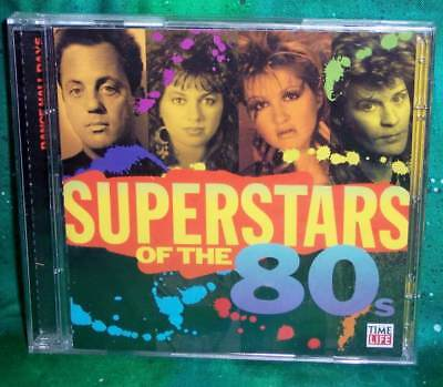 New Oop Time Life Superstars Of 80's Dance Hall Days 30 Track 2 Disc Music Cd