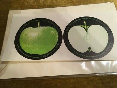 The Beatles Abbey Road Vinyl Record Apple Labels Paper Unused Uncirculated NEW