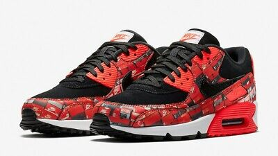 check out 83733 83f31 Atmos Nike Air Max 90 PRNT We Love Nike Box Print AQ0926-001 UK