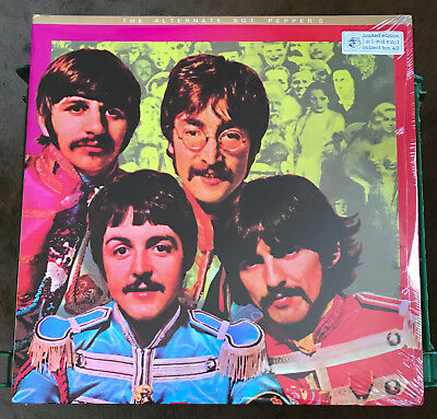 "The Beatles ""Alternate Sgt. Pepper"" Double Album Set SEALED!! On Colored Vinyl"