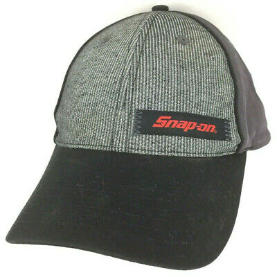 f75930bd3 SNAP ON TOOLS Hat Baseball Cap Adjustable Black Gray New #H6 ...