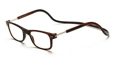 3faef6ad38c1 CliC LIKE STYLE BIG LENS EXECUTIVE Reading Glasses  Magnetic SNAP 1.00 to  4.00