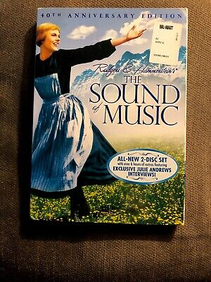 The Sound of Music (DVD, 2005, 2-Disc Set, 40th Anniversary Edition) Brand New!