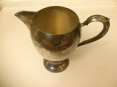 Silverplated Pitcher Markings SRS 1907