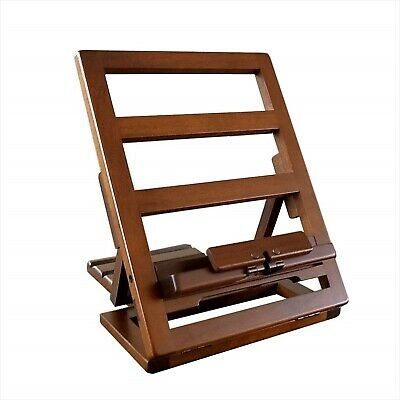 NEW Portable Folding Book Rest Stand Rack Holder Wooden Made in Japan