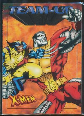 1997 X-Men '97 Trading Card #48 Wolverine & Colossus