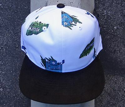 32b96c460b3cf New The Hundreds Skate Stay White Mens Strap Snapback Hat One Size HTHD-87