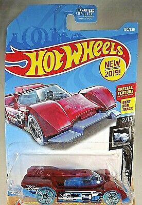 Long Card by Mattel Hot Wheels 2019 Gruppo x24 X-Rayers Red and Blue 130//250