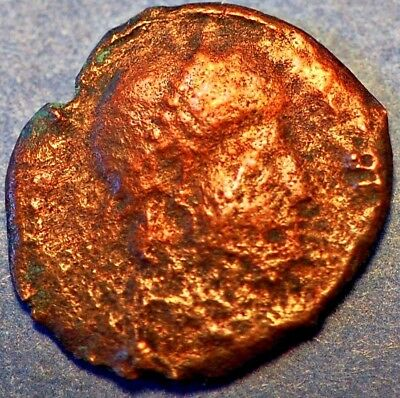 Roman Coper Undetified Coin .
