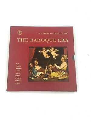 Time Life Records: The Story of Great Music-The Baroque Era -4 LPs Box Set VG++