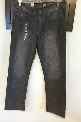 26218735 Nwt Mens Marc Ecko Cut And Sew 5 Pocket Straight Jeans $99 T44Jn02 Blue