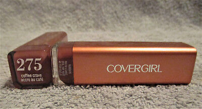 LOT of 3 ~ Covergirl  #275 COFFEE CRAVE~ Colorlicious Lipstick  NEW & SEALED