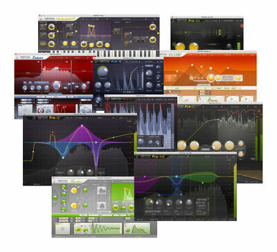 FabFilter Total Bundle AAX, VST For Pro tools 12, Cubase or any Daw