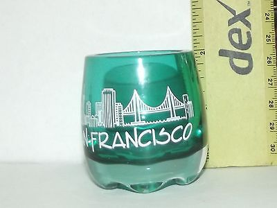 Shot Glass from San Francisco