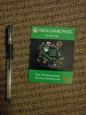 Microsoft Xbox Game Pass 14 Day Trial Code Card From PAX EAST 2018