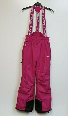 A271 Girls Nevica Pink Snowboarding Skiing Trousers Age 13 W26 L30