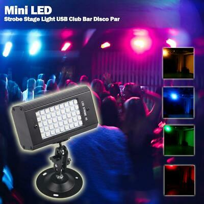 Mini 45LED 23W High Intensity Strobe Party Light KTV DJ Disco Stage Effect Club