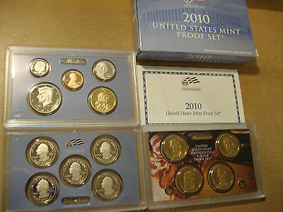 Usa America United States Kms  Proof Set 2010 Quarters Präsidenten Dollar