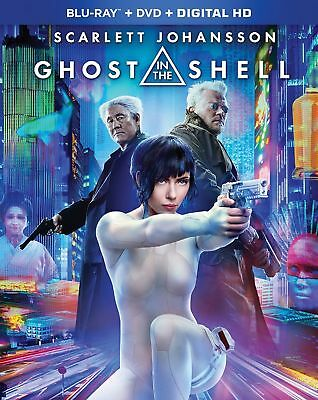 """""""GHOST IN THE SHELL"""" - NEW/SEALED BLU-RAY + DVD + DIGITAL!  Free Shipping!"""