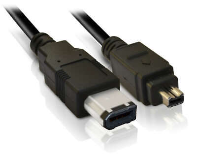 VC-VDV206U 4-6 pin Firewire Camcorder DV LEAD CABLE CORD for JVC Video Transfer