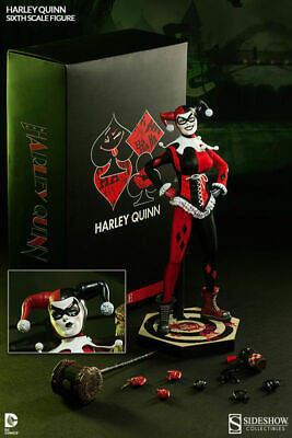 Sideshow DC Harley Quinn 1/6 Scale 12 inch Exclusive Figure Batman Joker