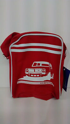 classic mini 1275gt themed reporters style bag free p&P