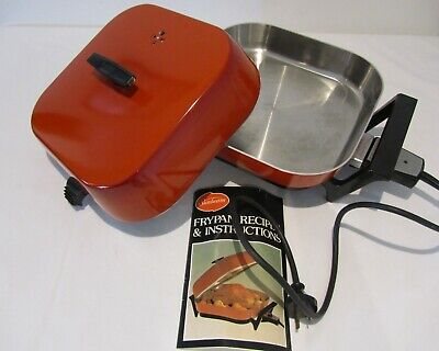 Vintage Retro 70s SUNBEAM ELECTRIC FRYPAN Exc Con Must See Pictures
