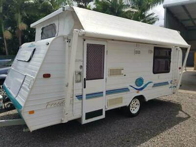 Jayco Freedom Caravan, 17 foot, A/C, Microwave, TV, Solar,Ready to tour, SE Qld