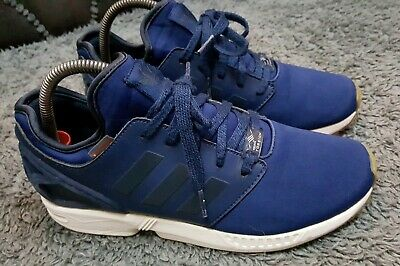 pretty nice 3230f 98cdf MEN'S OLDER BOYS Navy Blue Adidas Torsion ZX Flux trainers size 5.5 5 1/2