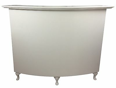 Medium Curved Reption Desk, Salon, Retail - French Style Shabby Chic