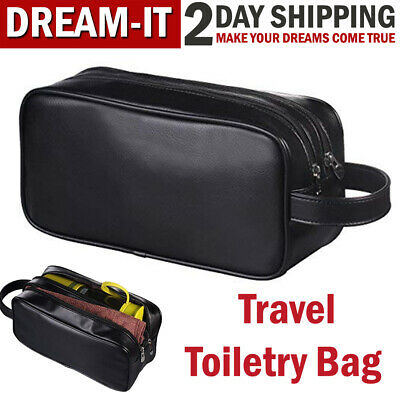Travel Toiletry Bag Men Shaving Accessory Ladies Supply Organizer Case Dopp Kit