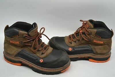 6691d9030a2 MEN'S WOLVERINE OVERPASS LX leather waterproof STEEL TOE Work Boot 9 M  W10717