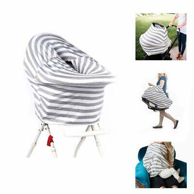 Baby Nursing Breastfeeding Privacy Cover Scarf Infant Car Seat Canopy Stroller