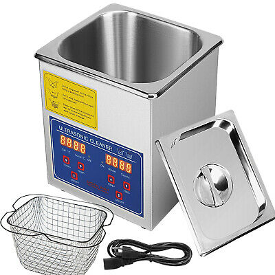 2l Qt Ultrasonic Cleaner 110w Digital Heated Industrial Parts