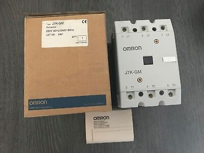 Omron contactor J7K-GM 230VAC  new