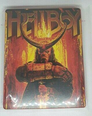 Custom Steelbook Hellboy Bluray Empty