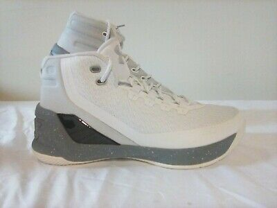 0c6469594f88 UNDER ARMOUR MENS UA Curry 2 Low Chef Sneakers Size 6 White Silver ...