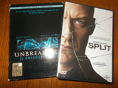 Dvd Digipack Unbreakable - Il Predestinato  Bruce Willis Collector's Edition