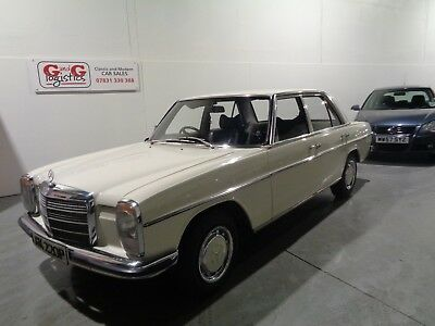 Mercedes 200 Manual-Only 2 Owners From New First Owner 41 Years Original Paint.