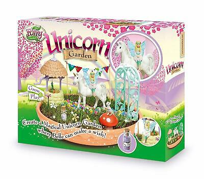 My Fairy Garden Enchanting Unicorn Meadow Creative Toy Magic Grow and Play Set