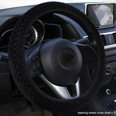 steering wheel cover warm decorations protection velvet Soft plush Cover