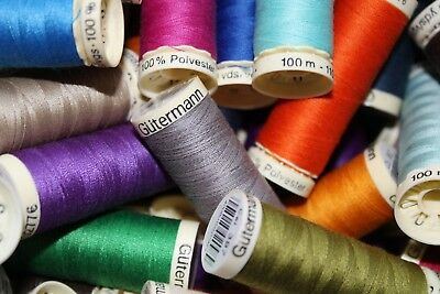 Gutermann Sew All Polyester Thread 100m (Col. 000 - 198)