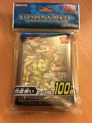 Yugioh 20TH ANNIVERSARY CHARMER Sleeves 100pcs Duelist Card Protector