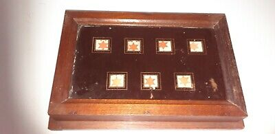 Servants or Butlers 7 way bell box all original